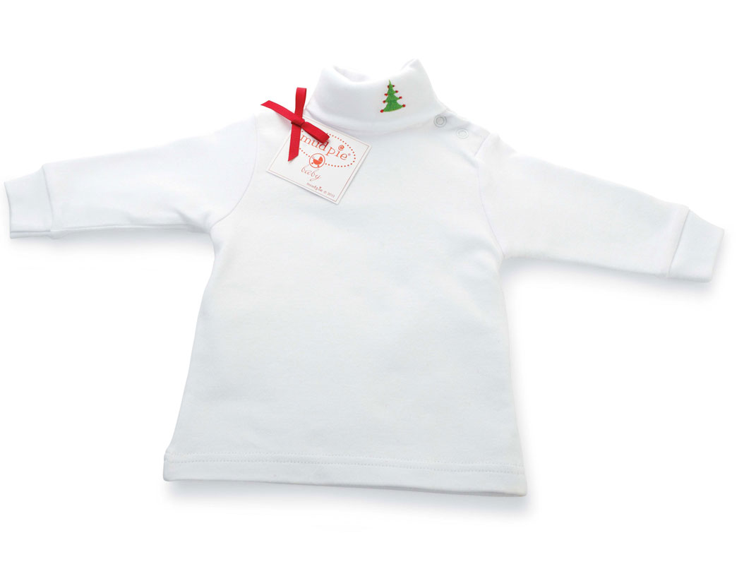 Mud Pie Christmas Turtleneck - White 12-18 months at Sears.com
