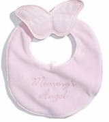 Pink Mommy's Angel Bib
