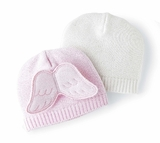 Wing Hat - Pink or Cream - out of stock