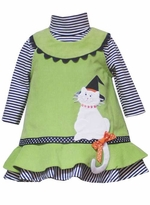 Halloween Kitty Cat Jumper Dress Set - SOLD OUT