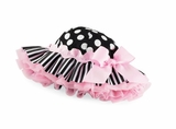 Mud Pie Ric Rac Ruffle Floppy Hat  sold out