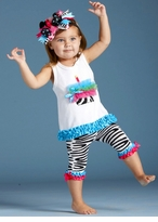 Mud Pie Zebra Tunic and Capri sold out