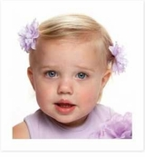 Baby Buds Mini Flower Barrettes - CHOOSE COLOR