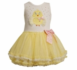 Bonnie Jean Girls Dress : Yellow Chick Tutu