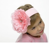 Pink Flower Headband - Large Flower