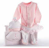 "Baby Ballerina Gift Set in ""Studio"" Gift Box"
