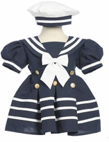 NAVY SAILOR DRESS  with Hat - sold out