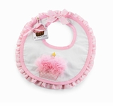 First Birthday Bib -  Cupcake  -