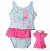 Infant Princess Swimsuit & Robe Set