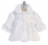 White Faux Fur Jacket - sold out