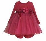 Bonnie Jean Fuchsia Tulle Dress
