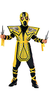 Yellow Ninja Costume
