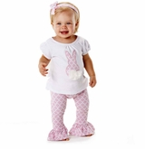 Mud Pie - Bunny Tunic Legging Set