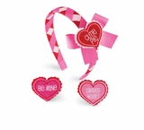 Mud Pie- Heart Headband - sold out