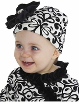 Damask Baby Hat ~ sold out