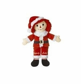 "Aurora Plush Raggedy Andy Santa 16""  sold out"