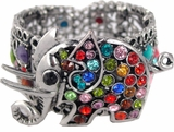 Elephant Cuff Bracelet - Multi Color SOLD OUT