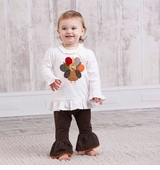 Infant or Toddler Thanksgiving Turkey Tunic -sold out