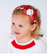 Mud Pie Baby or Girls Christmas Headband