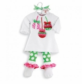 Christmas Ornament Tunic and Legging Set  SOLD OUT