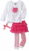 Mud Pie Baby Clothes - Heart Legging or Tight Set