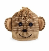 Toddler or Kids Hat -  Monkey Hat