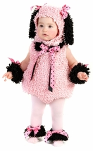Pinkie Poodle Costume  6-12 month LAST ONE