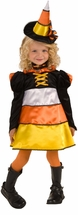 Toddler or Girls Witch Costume - Candy Corn Witch