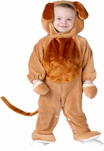 Plush Infant PUPPY COSTUME  - DELUXE