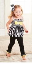 Mud Pie - Striped Tunic Legging Set -sold out