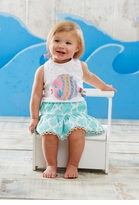 Mud Pie - Under the Sea Skirt Set