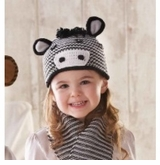 Toddler or Kids Hat - Zebra Hat SOLD OUT