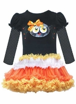 Black Spider Tutu Dress
