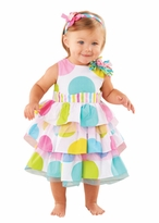 Mud Pie- Girl's Dot Birthday Girl Dress
