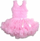 Infant or Girls ALL PINK Pettidress