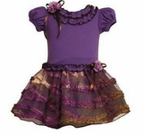Bonnie Baby Dress - Purple