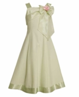 Girls 7 - 16 Sage Dress Flower Girl