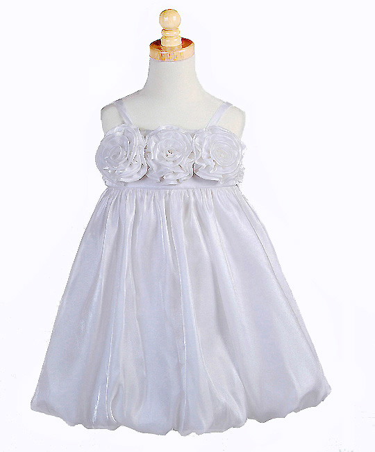 In Fashion Kids Girls White Bubble Dress   CLEARANCE FINAL SALE 9 / 10 at Sears.com