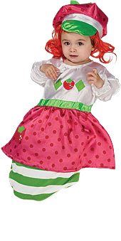 Strawberry Shortcake Costume - BUNTING