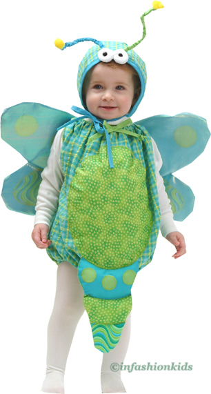 In Fashion Kids Baby Girl Halloween Costume  - DRAGONFLY Costume  ONE SIZE fits child wearing 6-18 month at Sears.com
