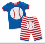 Mud Pie Boys Baseball Clothes 2 pc Outfit