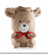 Bear Plush Blanket - NEW! - SOLD OUT