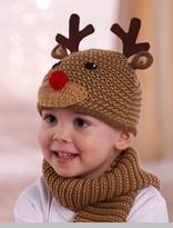 Knit Reindeer Hat -  IN STOCK!