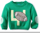 Newborn Boys - Baby FOOTBALL Sweater