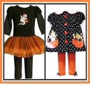 Halloween and Thanksgiving Outfits - For GIRLS AND BOYS