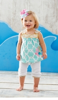 Mud Pie  Fish Tunic and Capri Set SOLD OUT