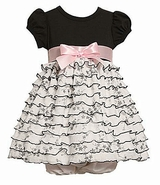 Bonnie Baby Dress - Toile