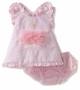 Party Time Cupcake Pinafore and Bloomer Set - sold out