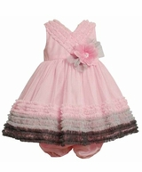 Bonnie Jean Baby or Toddler Girls Party Dress