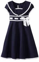 Girls Navy Sailor Dress - Nautical Dress  sold out